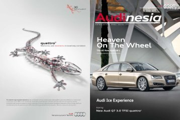 Heaven On The Wheel - Audi Indonesia > Home