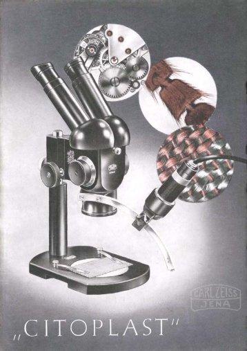 """Stereomikroskop """"Citoplast - Optik-Online"""