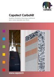 Capatect CarboNit Système d'isolation thermique extérieure - untec