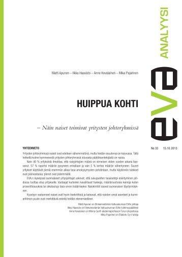 HUIPPUA KOHTI - Eva