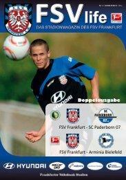 Tickets unter - FSV Frankfurt