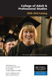 College of Adult & Professional Studies - Adult Undergraduate College