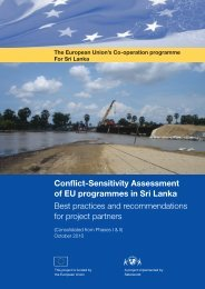 Conflict-Sensitivity Assessment of EU programmes in ... - Saferworld