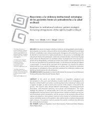 estrategias de los pacientes frente al contraderecho a la salud en ...
