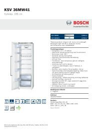Bosch KSV 36MW41 - Elon