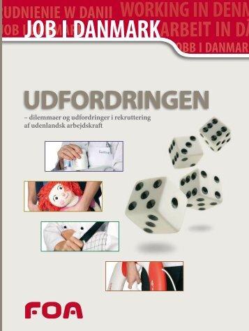 Job i Danmark: Udfordringen - dilemmaer og udfordringer i ... - FOA
