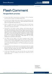 Flash Comment - Danske Analyse - Danske Bank