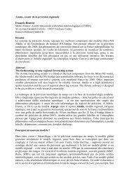 12 La Météorologie - n° 58 - août 2007 - Centre National de ...