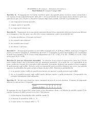 STATISTICA (II modulo - Inferenza Statistica) - Dipartimento di ...