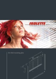 the blind insulating glass - Isolette