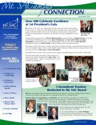 Over 400 Celebrate Excellence at 1st President's Gala - Mt. SAC ...