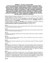 ORDIN MAPDR nr. 732/2005 privind aprobarea Listei ... - MADR