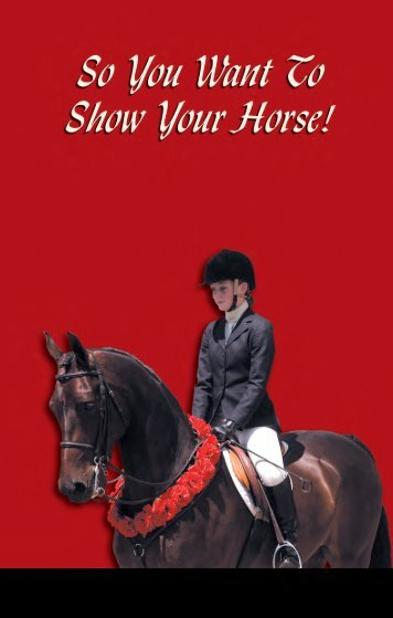 Show Horses - American Morgan Horse Association