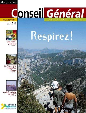 Une culture pour tous - Conseil Général des Alpes de Haute Provence