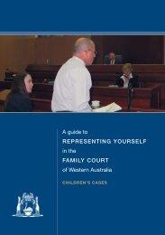 Handbook - Childrens Cases - Family Court of Western Australia