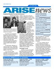ARISE Flash Card 2009