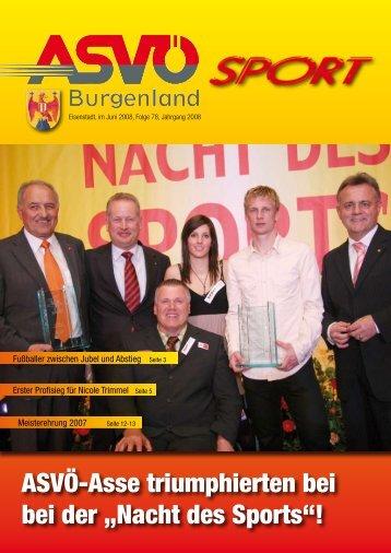 Ausgabe Juni 2008 - ASVÖ Burgenland