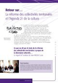 Lire le dossier - Réseau Culture 21 - Page 2