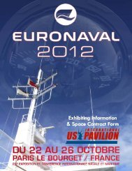 Euronaval 2012 Sales Package (Read-Only) - Kallman Worldwide Inc.