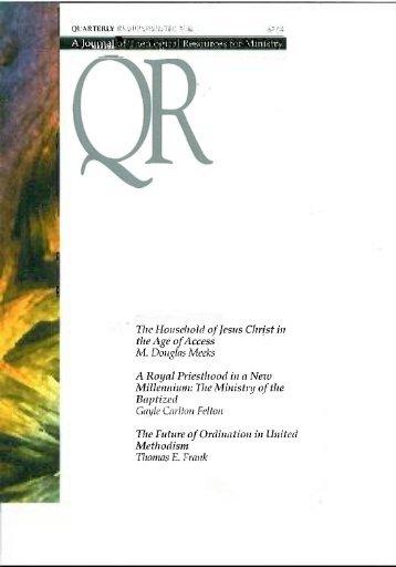 Winter 2000 - Quarterly Review