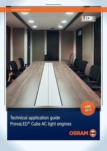 28563 App Guide PrevaLED Cube AC_en.indd - Osram