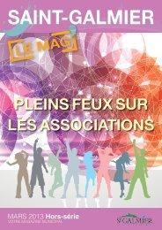 Hors Série - Mars 2013 - Site officiel - Mairie de Saint-Galmier