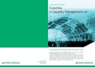 Expertise in Liquidity Management - Crédit Agricole CIB