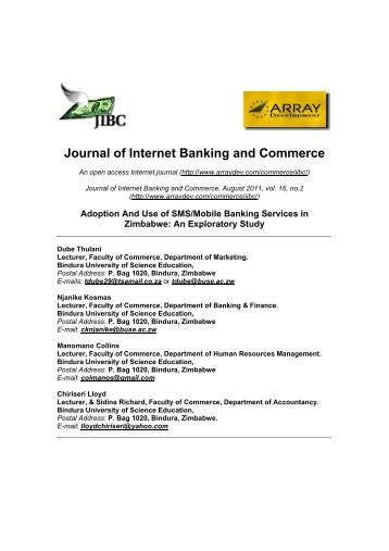 journal of internet banking and commerce pdf