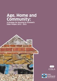 A Strategy For Housing For Scotland's Older People - Scottish ...