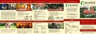 Flyer Angebote 2012 - Waldhotel Roggosen