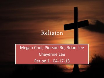 Religion Group 3