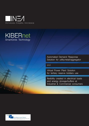 Automated Demand Response Solution for utility/retail ... - Inea
