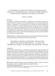O NASCIMENTO DA BIOLOGIA MOLECULAR ... - Embrapa
