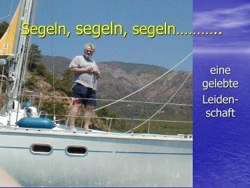 Segeln, segeln,