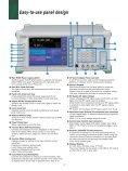 Anritsu MG3700A: Vector Signal Generator - elsinco - Page 4