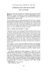 INDEXICALITY AND ACTUALITY - Andrew M. Bailey