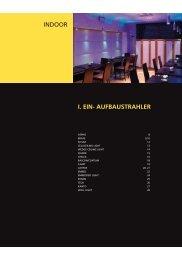 I. eIN- AufbAustrAhler iNdoor - Deco