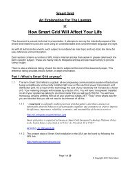 How Smart Grid Will Affect Your Life - StopTheCrime.net