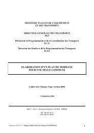 Cahier des charges, Elaboration d'un plan de mobilité ... - Euromedina