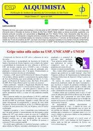 ALQUIMISTA - Instituto de Química - USP