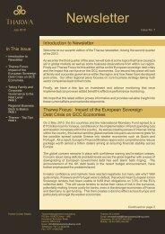 newsletter_issue07_july2010 72 Kb - Tharwa Management ...