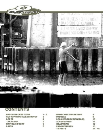 to download the PDF Surftech 2010 Catalog. - Stand Up Paddle ...