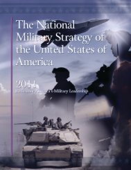 The National Military Strategy of The United States of America - IEEE