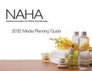 NAHA's contact list is comprised of Members, Schools, Educators ...