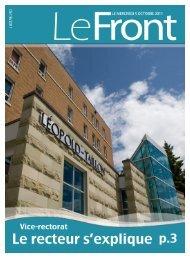 5 octobre 2011 - Université de Moncton