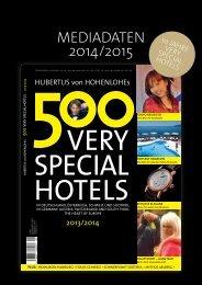 Mediadaten Hvh 2014-15 dt.pdf - 500 Very special hotels