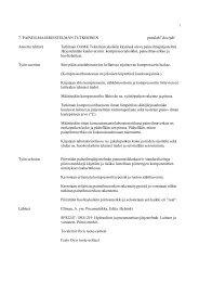 Työt 7-9 - Tekniikan yksikkö - Oamk