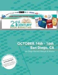 OCTOBER 14th - 16th - 21st Century Book Marketing