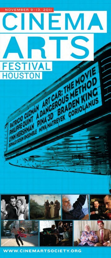 Download a PDF of 2011 Pocket Guide - Houston Cinema Arts Society