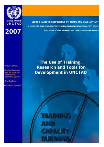 Activityreport 2007-lv.pdf - Unctad XI